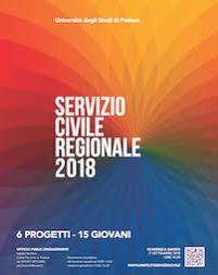 Servizio Civile Regionale - Bando 2018